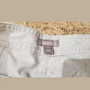 J. Jill Pants - 3/$25 J.Jill Light Pants Crop Beige stretch Sz10